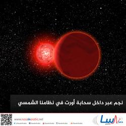 نجم عبر داخل سحابة أورت في نظامنا الشمسي