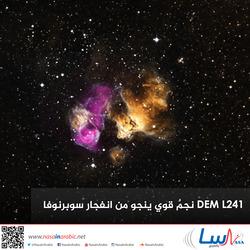 DEM L241 نجمٌ قوي ينجو من انفجار سوبرنوفا