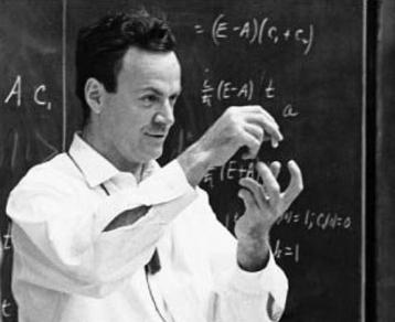 الفيزيائي ريتشارد فاينمان أبو التقانة النانوية.