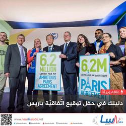 دليلك في حفل توقيع اتّفاقيّة باريس