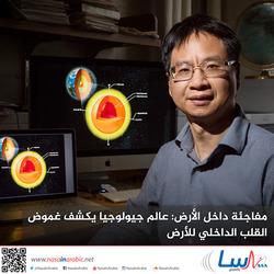 مفاجئة داخل الأرض: عالم جيولوجيا يكشف غموض القلب الداخلي للأرض
