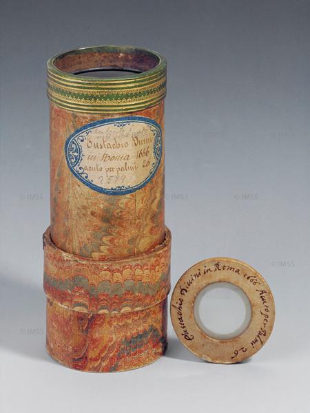 يوستاجو ديفيني (1610-1685) عدسة عينية مقعرة الوجهين، روما 1666 فلورنسا، معهد ومتحف تاريخ العلوم، العنصر 2574