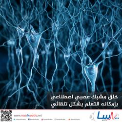 إنشاء مشبك عصبي اصطناعي بإمكانه التعلم بشكل تلقائي
