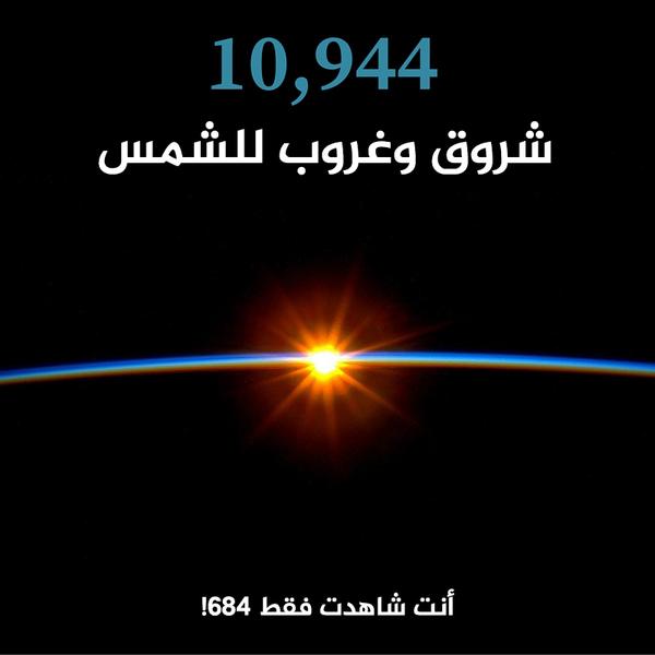 10944 شروق وغروب للشمس.!