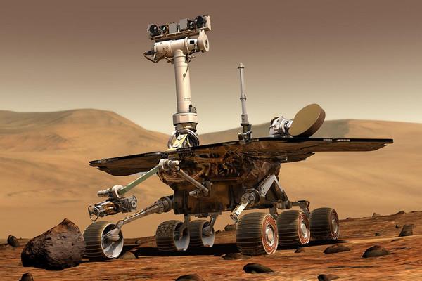 المركبة السيارة لاستكشاف المريخ- أبورتونيتي Mars Exploration Rover – Opportunity