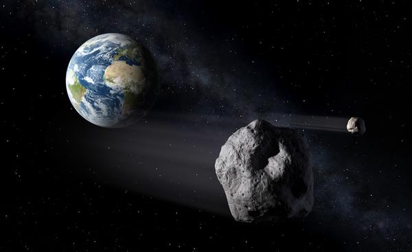 رصد الأجسام القريبة من الأرض