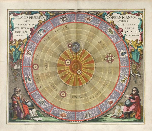 نيكولا كوبرنيكوس Nicolaus Copernicus تجربة العلم ووضع الشمس في مركز النظام الشمسي