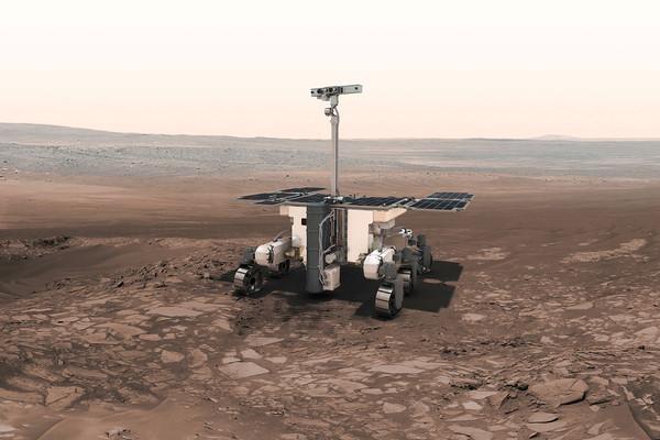المركبة الجوالة إكسومارس - ExoMars Rover