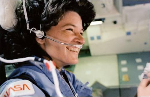 سالي رايد Sally Ride، الإمرأة الأمريكية الأولى في الفضاء