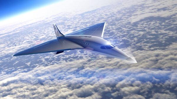 ستكون الطائرة النفاثة الأسرع من الصوت قادرةً على نقل الركاب بسرعة ماخ 3 على ارتفاع 18300 متر. حقوق الصورة: Virgin Galactic