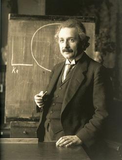 """آلبرت أينشتاين دعا التشابك بـ """"الفعل الشبحي عن بعد""""."""