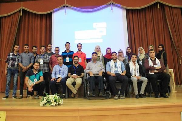 زار وفد مشترك من مبادرة ناسا بالعربي والجمعية الطلابية لعلوم الفلك والفيزياء -سابا جامعة فلسطين التقنية يوم الأثنين الموافق 12\10\2016