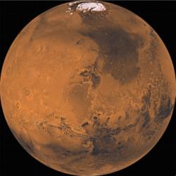 المريخ، أيضا، لديه طقس كُلي