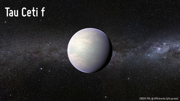 الكوكب Tau Ceti f
