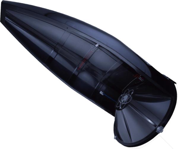 قطع الحمولة الانسيابية المخصصة للصاروخ الإلكتروني. المصدر:rocketlabusa.com