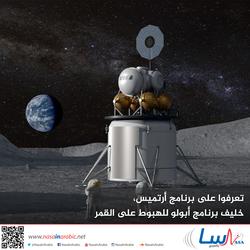 تعرفوا على برنامج أرتميس، خليف برنامج أبولو للهبوط على القمر