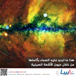 هذا ما تبدو عليه السماء بأكملها من خلال عيون الأشعة السينية