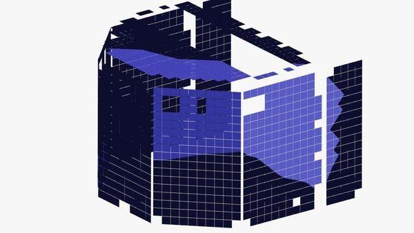 يظهر هذا الشكل البياني اللوحات الشّمسيّة على جسم فيلي. ويظهر كلًا من محاكاة دورة اللّيل والنّهار وطبوغرافية مكان الهبوط تغيرات في التعرّض للإضاءة، حيث أن التضاريس المحلية تحجب فيلي بظلّها في أوقات مختلفة. تظهر المقاطع الملونة باللون الأزرق اللوحات الشّمسيّة التي أضيئت في اللحظة التي التُقطت فيها الصور في 13 كانون الأول/ديسمبر. رغم أن أرجل فيلي تظهر مضاءة في الصور، إلا أن المحاكاة تُبيّن أنّ الشّمس لن تصل إلى الأجزاء السفلية من المسبار في وقت التقاط الصورة في 13 كانون الأول/ديسمبر. تحت ظروف الإضاءة هذه، سيغطّي فيلي عدة بيكسلات فقط في الصور المأخوذة بواسطة OSIRIS من على بعد 20 كم. Credits: DLR