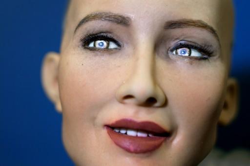 تعتبر صوفيا Sophia، وهي روبوت شبيه بالإنسان، نقطة الجذب الرئيسية في مؤتمر الذكاء الاصطناعي هذا الأسبوع، إلا أن تقنيتها أثارت المخاوف بشأن وظائف الناس في المستقبل.