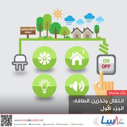 انتقال وتخزين الطاقة: الجزء الأول