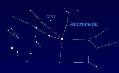 """كوكبة المرأة المسلسلة """"أندروميدا"""" constellation of Andromeda"""