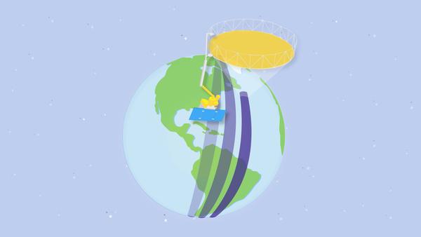 القمر الصناعي المخصص لقياس نسبة رطوبة التربة (SMAP)