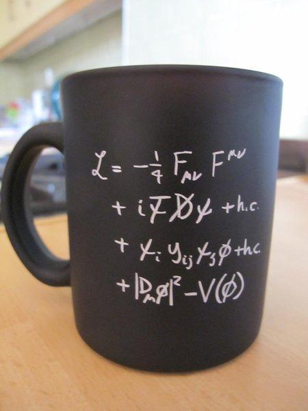 لاغرانجيان النموذج القياسي (Standard Model Lagrangian)