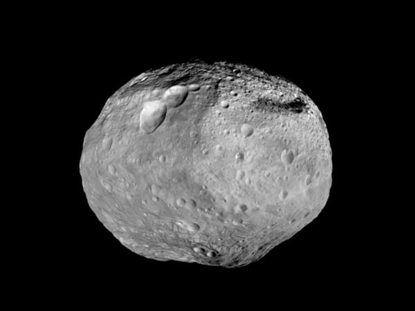 صورة للكويكب فيستا (Vesta) كما تراه مركبة الفضاء داونCredit: NASA/JPL-Caltech/UCAL/MPS/DLR/IDA