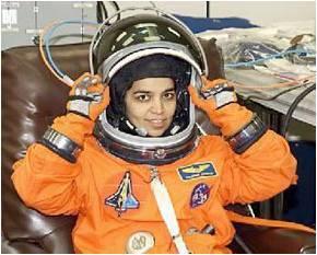 كالبانا تشاولا Kalpana Chawla، أول أنثى هندية المولد في الفضاء