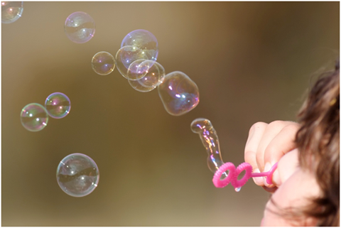 """Girl blowing bubbles"" by Taken byfir0002 