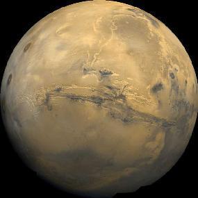 كوكب المريخ الحقوق: NASA