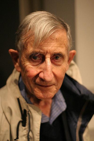 فريمان دايسون في العام 2005. الصورة من: Jacob Appelbaum