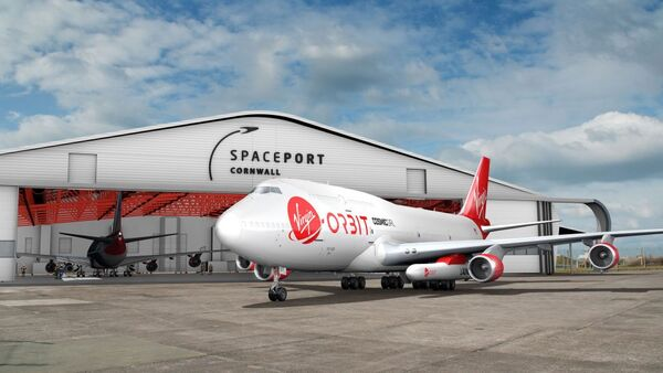 يتطلع ميناء كورنوال لاستقبال شركة فيرجن أوربت العام القادم. حقوق الصورة: Spaceport Cornwall.