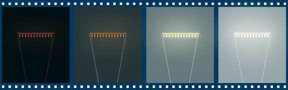 إنتاج الضوء