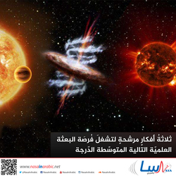 ثلاثةُ أفكارٍ مرشحةٍ لتشغلَ فُرصَة البعثة العلميّة التالية المتوسّطة الدّرجة