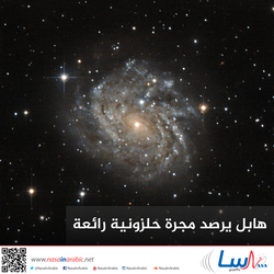هابل يرصد مجرة حلزونية رائعة