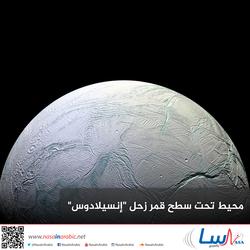 محيط تحت سطح قمر زحل إنسيلادوس