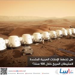 هل تخطط الإمارات العربية المتحدة لاستيطان المريخ خلال 100 سنة؟