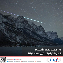في عطلة نهاية الأسبوع: شهب التوأميات تزّين سماء ليلنا