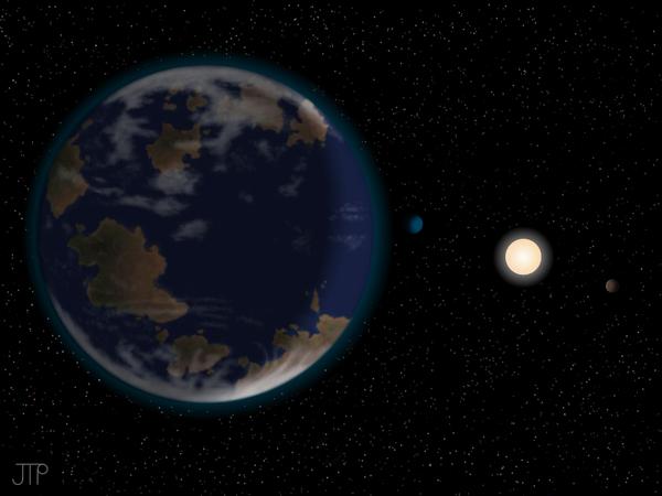 الكوكب HD 40307g