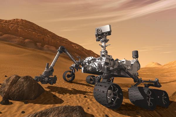مختبر المريخ العلمي- كيوريوسيتي Mars Science Laboratory – Curiosity