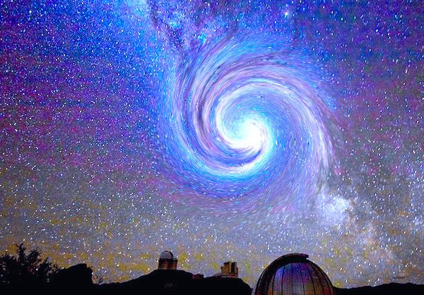 هذه الصورة ملتقطة بواسطة كارل شارف Caleb Scharf المصدر : A. Fitzsimmins/ESO