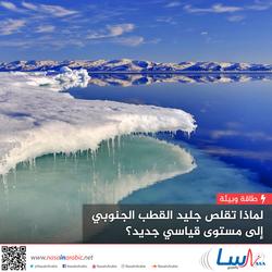 لماذا تقلص جليد القطب الجنوبي إلى مستوى قياسي جديد؟