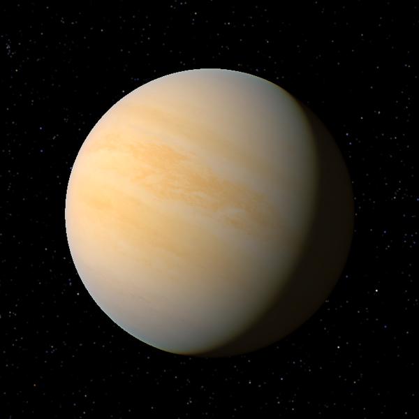يظهر في الصورة كوكب تدمر الذي كان يعرف سابقًا بـ gamma cephei Ab. حقوق الصورة: http://planet.wikia.com/wiki/Gamma_Cephei_Ab