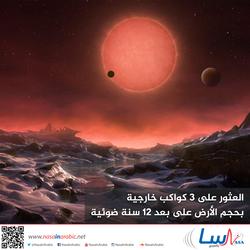 العثور على 3 كواكب خارجية بحجم الأرض على بعد 12 سنة ضوئية