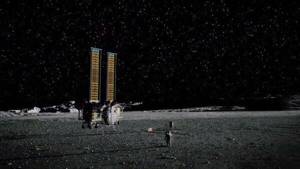 تصور لمركبة هبوط من قبل داينتكس، وهي من ضمن المتعاقدين الذين اختارتهم ناسا لتطوير مركبات الهبوط القمرية للرواد. حقوق الصورة: Dynetics