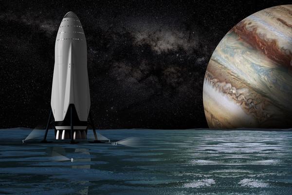 نظام سبيس إكس للتنقل بين الكواكب SpaceX Interplanetary Transport System