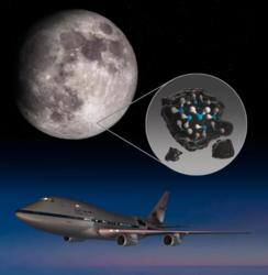 لأول مرة على الإطلاق، اكتشاف الماء على سطح القمر المضاء بأشعة الشمس