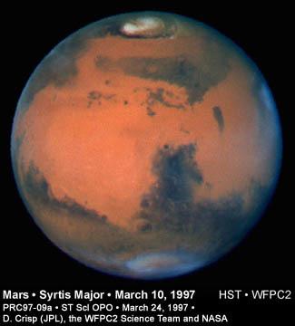 كوكب المريخ. الحقوق: STScI