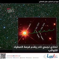 تحاذي نجمي نادر يقدم فرصة لاصطياد الكواكب